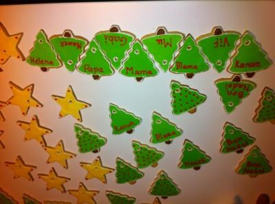 Galetes de Nadal decorades